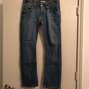 Levi's 504 slouch straight 7short